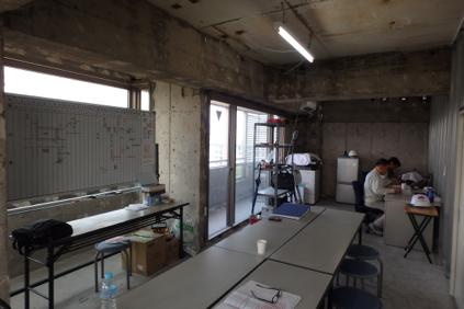 10階現場事務所